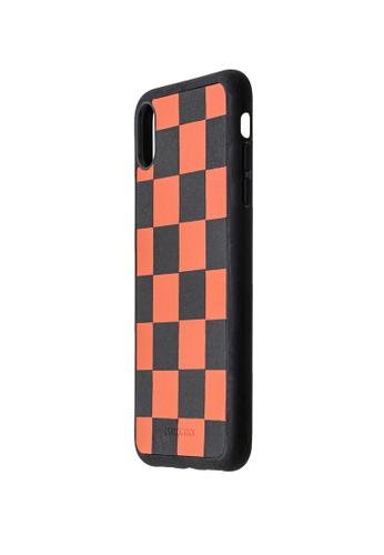 POROLUXE orange PHONE CASE FOR IPHONE XS MAX 78FDCAC8DA6F1FGS_1
