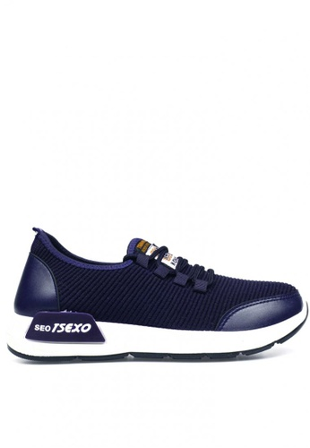 New York Sneakers navy Griff f3 Men's Rubber Shoes 1361CSH9E7FE2CGS_1
