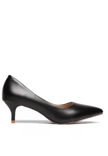 Twenty Eight Shoes black 5CM Pointy Pumps 292-18 C92CCSH0980DA9GS_1