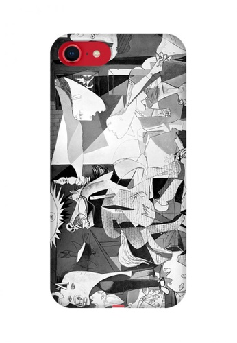 Wonder Cover grey Guernica Hard Case for iPhone 8 5E7D8AC56467B8GS_1