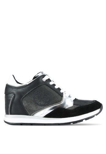 Guess black Liela Black Sneakers GU020SH0S7L8MY_1