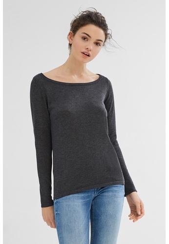 ESPRIT black Basic jumper in soft fine knit yarn CAC8EAAEBB251EGS_1