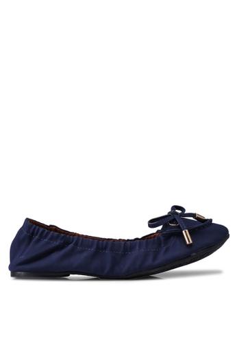 Carlton London 藍色 蝴蝶結樂福鞋 AFA8ESHA3AC1EAGS_1