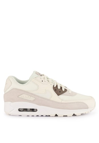Nike white Nike Air Max 90 Premium Shoes 2DD50SH8635A0BGS_1