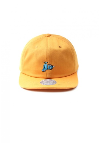 M-Wanted yellow M. Retro X I Luv Scooter-ING Baseball Cap MW173AC35OXSSG_1
