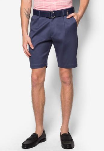 腰帶休閒短褲, 服飾,esprit 高雄 短褲