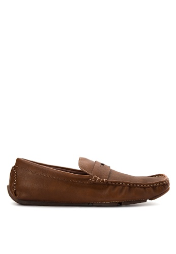 Mendrez brown Harvey Loafers ME992SH0KFLPPH_1