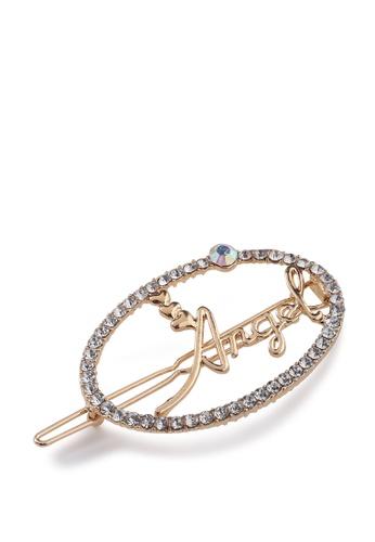 London Rag gold Embellished Angel Hair Clip 59D2AAC1883BD0GS_1