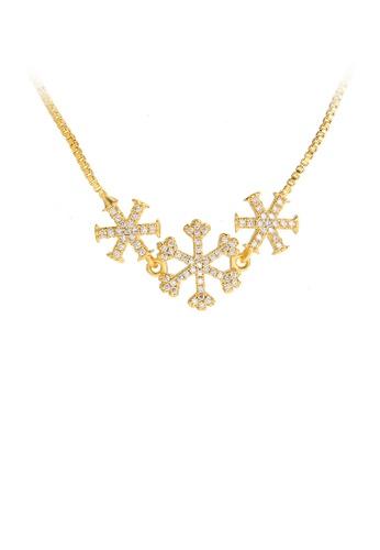Glamorousky white Fashion Snowflakes Bracelet with White Austrian Element Crystal 7234AAC5F115BAGS_1