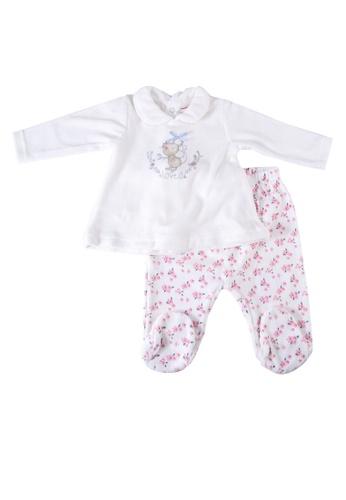 Babybol white Baby 2 Pieces Set A4DFEKAFE43380GS_1