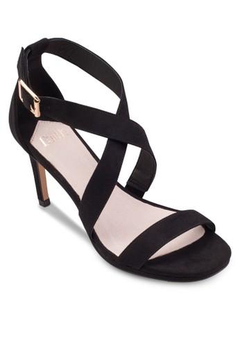 交叉踝帶高跟涼鞋, 女鞋,esprit 鞋 鞋