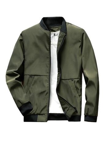 Twenty Eight Shoes green VANSA  Simple Casual Coat VCM-C1966 FFBC9AA96FD064GS_1