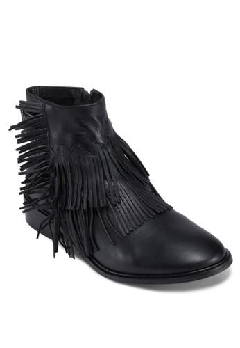 Arid 流zalora 內衣蘇豬皮踝靴, 女鞋, 鞋