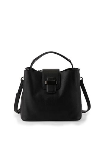 Della Stella black Lottie Tote Bag 5C9CAAC13C78CBGS_1