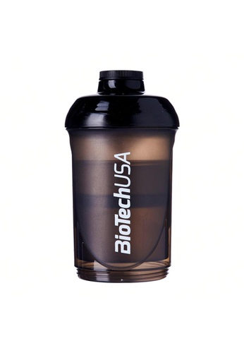 BioTechUSA black Shaker Bottle With Compartments 600 ML (+200 ML +100 ML) 5782BHL83672BCGS_1