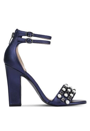 Guess blue Petunia Embellished Heels GU020SH0RJCBMY_1