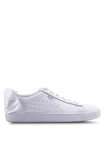 lowest price cd7f1 27eac Sportstyle Prime Basket Bow Satin Sneakers