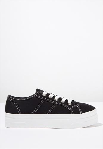 Rubi black Willow Platform Sneaker 010B7SH00FE4CAGS_1