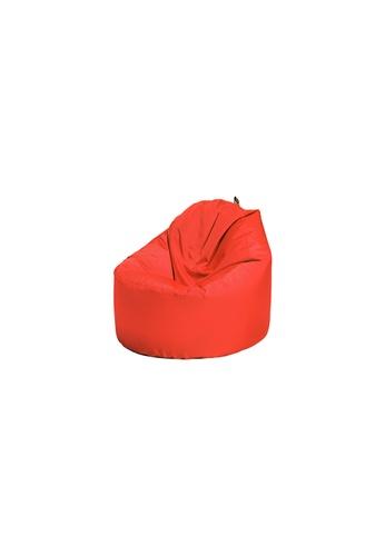 doob red OOMPH MINI - spill-proof kids doob bean bag (Chili Red) 8FDB5HL1F9AB84GS_1