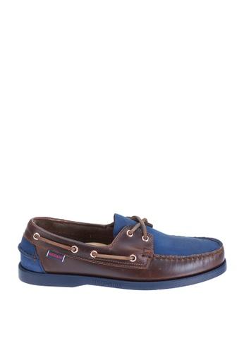 Sebago multi Mens Spinnaker Boat Shoes SE328SH58NGRPH_1