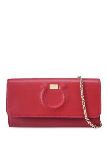 Ferragamo pink Gancini Wallet (zt) 72D11AC74AFA7CGS_1