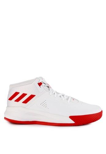 adidas white adidas d lillard brookfield 5AB3DSH9081CC5GS_1
