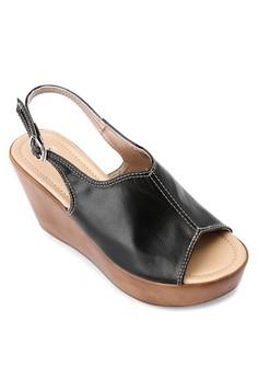 Alodia High Wedge Sandals