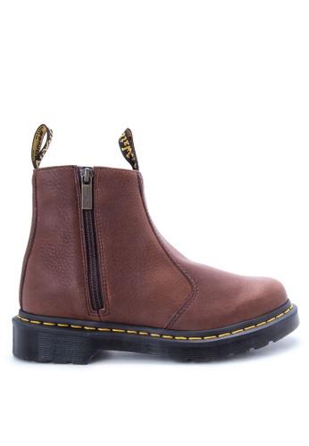 353e7dd0cea Shop Dr Martens Women's 2976 w/Zip Chelsea Boots Online on ZALORA ...