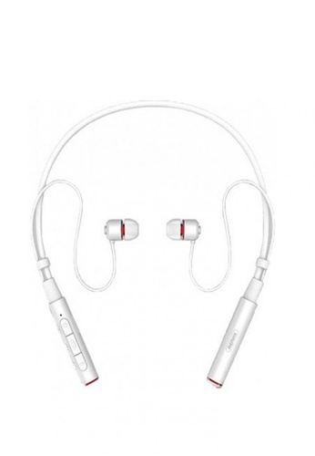 Stylebox white Remax RB-S6 Neckband Bluetooth Earphone E7666ACEB8AC92GS_1