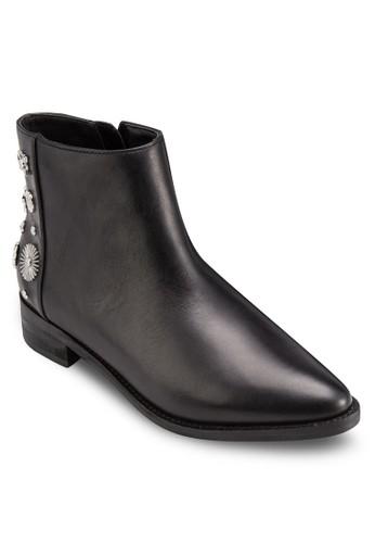 Reyes 造型鉚釘踝靴,esprit 香港 韓系時尚, 梳妝