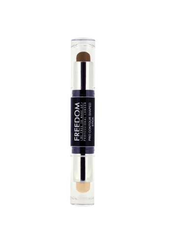 Freedom Makeup brown and beige Pro Contour Shaped Stick Light FR785BE10NVTSG_1