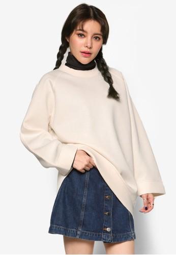 韓系時尚寬版拉克蘭長袖衫,esprit衣服目錄 服飾, 外套