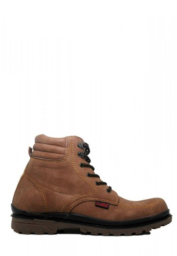 D-Island brown D-Island Shoes Safety Boots Hikers Fashionable Brown DI594SH43SEQID_1