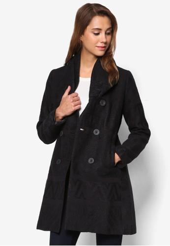 Asha 雙排扣冬季大衣, 服飾esprit 台灣官網, 服飾