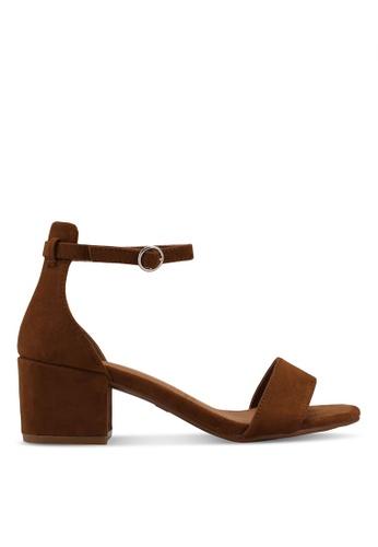 Rubi brown Ivy Block Heels 492AASH493FDB9GS_1
