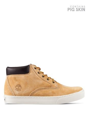 Timberland yellow Dauset Waterproof Chukka Boots TI063SH0RP6YMY_1