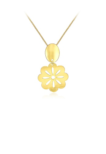 Glamorousky silver Fashion Sakura Pendant with Necklace 14301AC22CC9A1GS_1