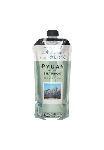KAO KAO Merit Pyuan Mintea & Muguet (Natural) Shampoo (Refill) 340ml (KAO-367778) D9141BE64AE0AAGS_1