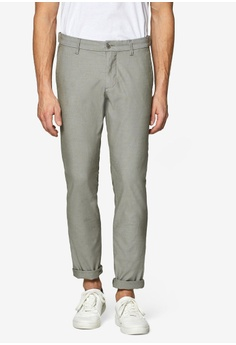 04cc50149 ESPRIT green Blended Cotton Stretch Trousers E6A9EAA05646CDGS 1