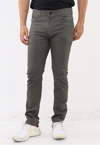 Bossini Men brown Slim Tapered Casual Pants 5623CAA472268BGS_1