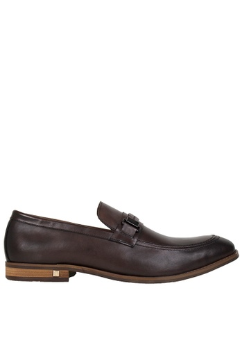 Tomaz brown Tomaz F157 Braided Loafers (Coffee) D366ASH72018E2GS_1