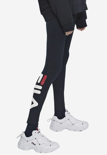 FILA black Korea Collection FILA Logo Legging BC889AA5C34A39GS_1