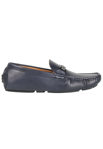 Tomaz blue Tomaz C368 Buckled Loafers (Navy) C10EESHD44F869GS_1
