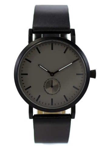 LEUPP black Kaoru Watch 0F33BAC32A1554GS_1