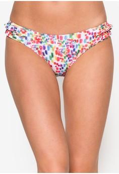 Brushy Frill Side Bikini Bottom