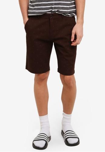 Marc & Giselle brown Bermuda Shorts MA188AA0RTKQMY_1