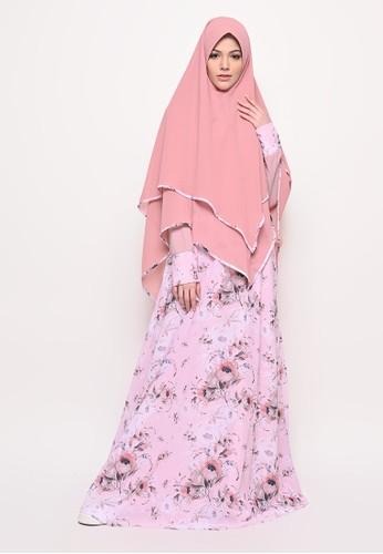 Tazqa Hijrah pink Shania Flora Pink C5985AA9E69DCDGS_1
