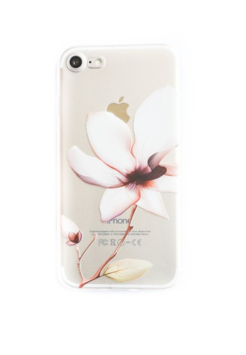 Fancy Cellphone Cases multi Lily Bloom Soft Transparent Case for iPhone 7 FA644AC67RZSPH_1