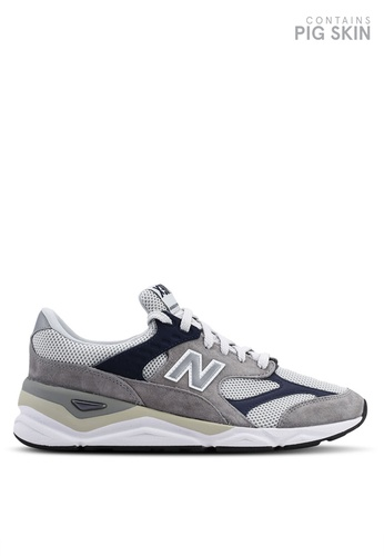 New Balance grey X90 Heritage Reconstructed Shoes 41716SH01C5C5EGS_1