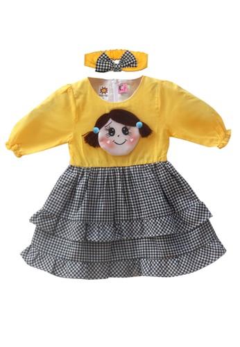 TWO MIX yellow Two Mix Baju Bayi Perempuan / Dress Bayi / Gaun Bayi  4011 8CD82KA7ED21D4GS_1